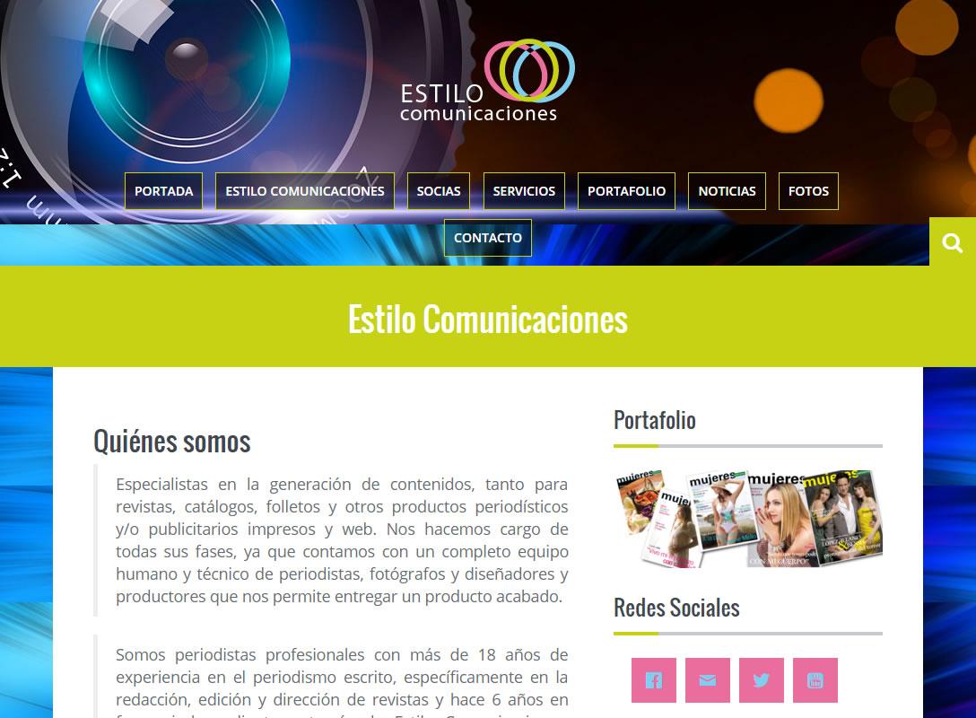 Estilo Comunicaciones